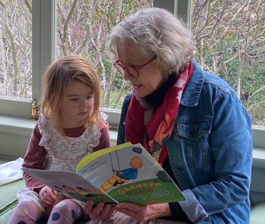 Helen and Mathilda enjoy a story together - Storylines